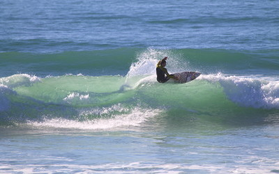 Learning To Surf At The New Improved Anza
