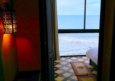bouad_3_bed_taghazout_apartment_rental_surf_berbere_front_bedroom