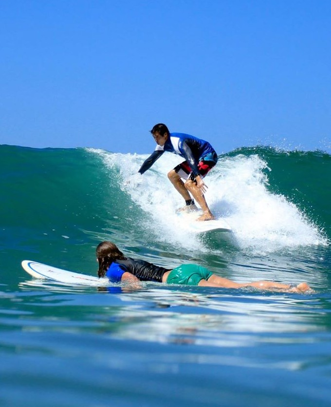 beginner surf lessons in taghazout