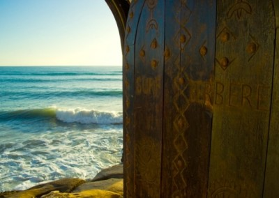 surf camp door
