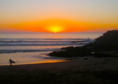 sunset_at_devils_rock_surf_berbere_surf_school_