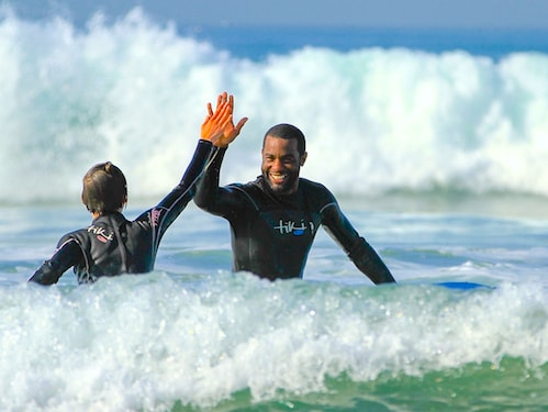 surf berbere 12 week course to become a surf instructor at their Taghazout surf school