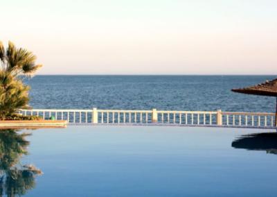 killers infinity pool taghazout surf rental