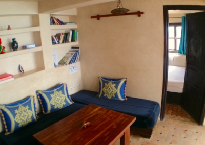 cloud 9 apartment to rent taghazout living room