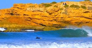 Devils Rock surf spot taghazout