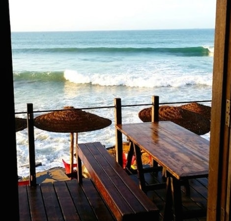 surf berbere surf camp terrace in taghazout