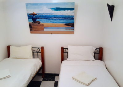 Chopes twin room surf berbere morocco surf camp
