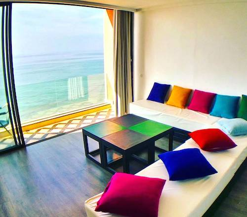 bouad_3_bed_living_room_taghazout rental