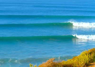 killer point surfing spot morocco tagahzout