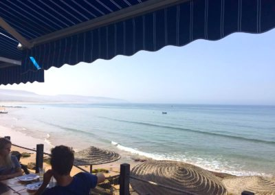 cafe hash point taghazout ocean views