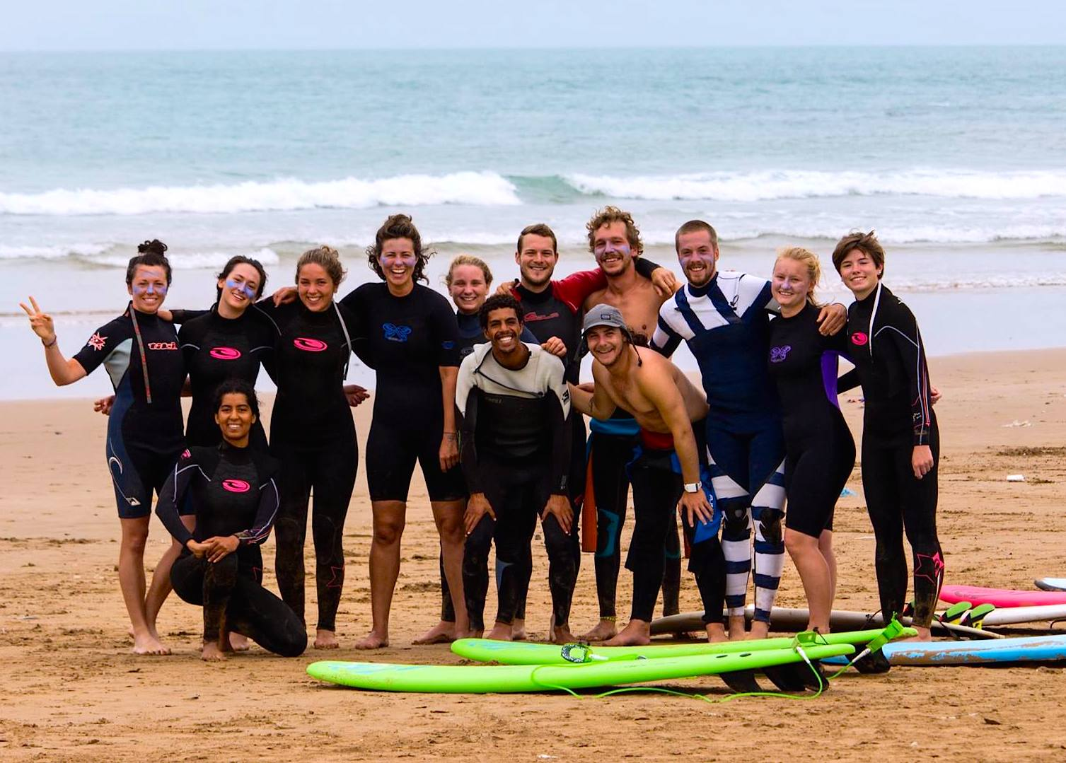 surf berbere 12 week surf instructor course group