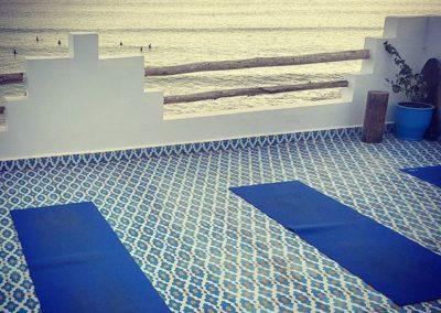 yoga terrace surf berbere