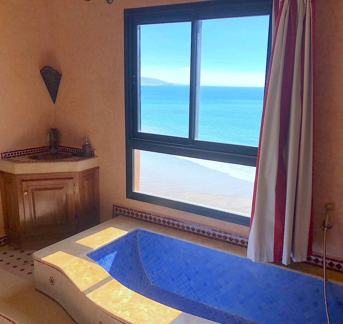 The Bouad Penthouse - Luxury Seaview Apartment On Taghazout Seafront