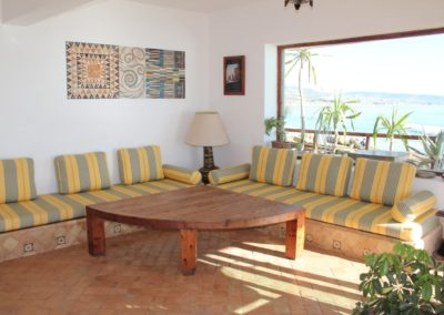 panoramas apartment to rent taghazout living room 2-min