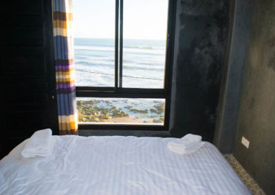 view from bouad 2 bed apartment taghazout